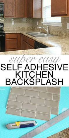 self adhesive kitchen backsplash diy re stained oak kitchen makeover cabinets i used behr 5110
