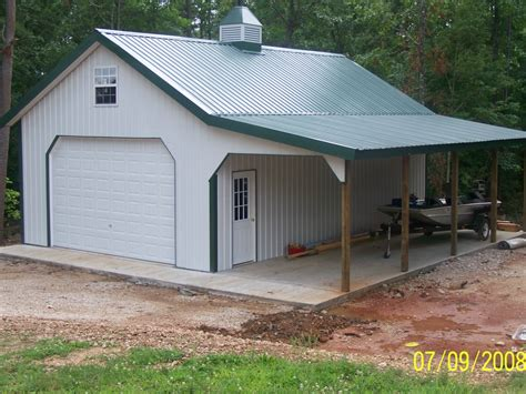 Home Ideas Metal Barn House Inspired Plans Basement Pole
