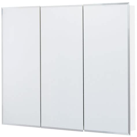 Glacier Bay Medicine Cabinet Mirror by Glacier Bay 36 In X 29 In Frameless Surface Mount
