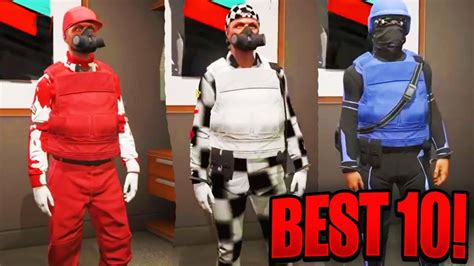 THE BEST 10 GTA 5 ONLINE MODDED OUTFITS! (GTA 5 MODDED OUTFIT) 1.39 {GTA 5 Director Mode Glitch ...