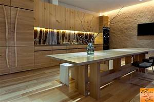 56 best kitchen design in the world for Deco cuisine avec chaise bois