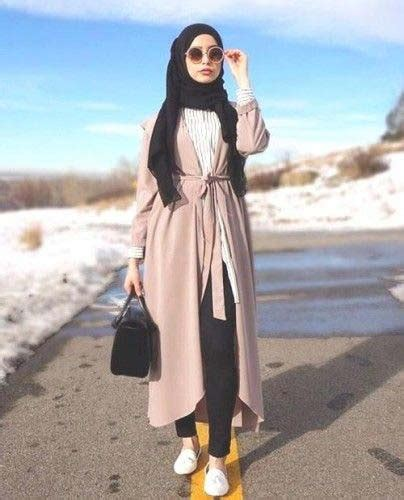 idees de tenues de hijab fashion  modernes astuces