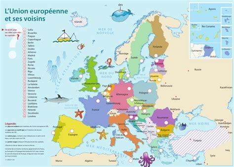 Carte Européenne Avec Capitales by 201 Lections Europ 233 Ennes Trois Indices Pour Le Quiz Du Mois