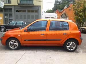 Venta Auto Usado Renault Clio 1 6l Expression Aut  2004  Color Naranja Metalico Precio  55 000
