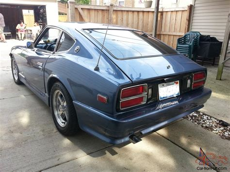 76 Datsun 280z by 76 280z Chevy V 8 Wth Blower And 5 Speed No Reserve
