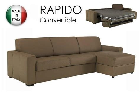 canape cuir taupe angle canape d 39 angle dreamer convertible ouverture rapido 160cm