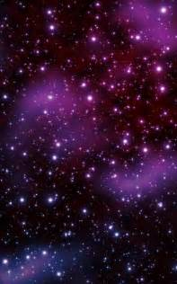 Beautiful Purple Night Sky Stars