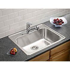 shop kitchen bar sinks at homedepot ca the home depot