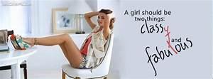 Classy Girls Fa... Classy Dp Quotes