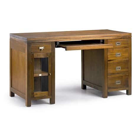 bureau en bois exotique bureau secretaire loft 8 tiroirs bois massif bureau en bois exotique deyhouse