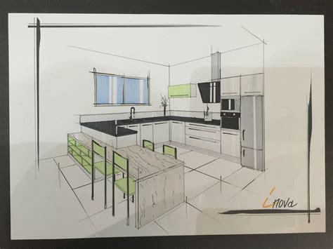 dessin d une cuisine dessin cuisine moderne cuisines inovconception