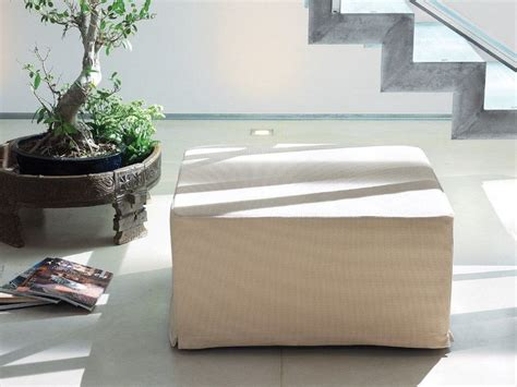Fabric Pouf Bed With Removable Lining Dizzy By Milano Bedding