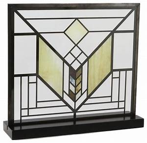 frank lloyd wright lake geneva tulip stained glass With kitchen cabinets lowes with frank lloyd wright metal wall art