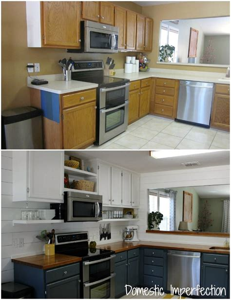 Cheap Renovation Ideas For Kitchen - farmhouse kitchen on a budget the reveal domestic imperfection