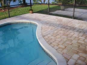 Pavers For Pool Decks by Pool Pavers Remodel Your Pool Deck With Pavers From