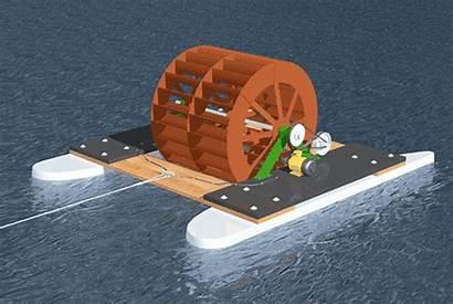 Generator Waterwheel Electrical Water Wheel Flow River