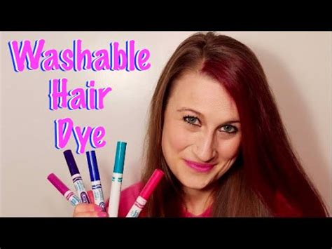 washable hair dye  markers temporary