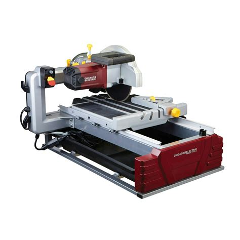 chicago electric 10 in 2 5 hp industrial tile brick saw 2