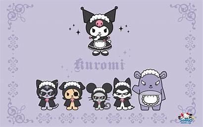 Sanrio Kuromi Wallpapers Kawaii Melody Kitty Hello