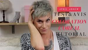 Coloration Cheveux Gris Perle : test et avis coloration cheveux gris l 39 oreal colorista ~ Nature-et-papiers.com Idées de Décoration