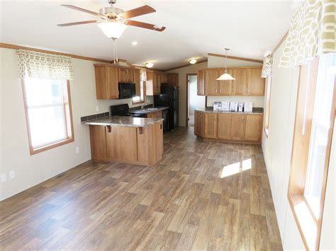 aa single wide manufactured home kitchen village homes