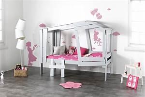 Chambre Enfant Alinea : lit cabane belgique ~ Teatrodelosmanantiales.com Idées de Décoration