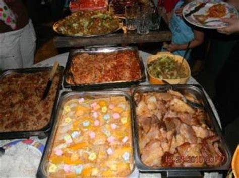 Food take-away from parties attended / myLot