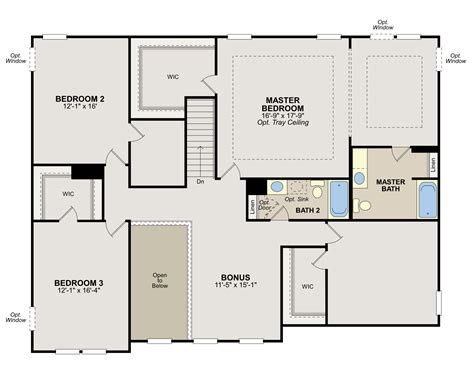 blueprint for houses ryland homes floor plans home deco plans