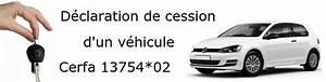 Declaration D Achat De Vehicule : d claration de cession d 39 un v hicule t l charger formulaire cerfa 13754 ~ Gottalentnigeria.com Avis de Voitures