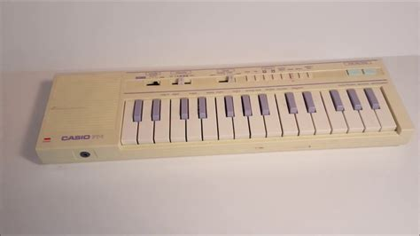 casio pt  vintage early  mini keyboard youtube