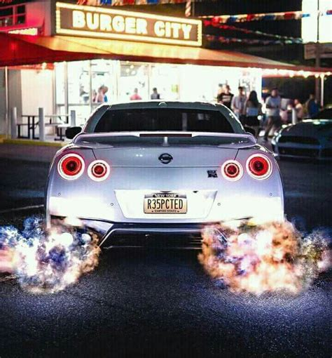 Gtr Shooting Flames Wallpaper by Gt R Shooting Flames Automobile Nissan Gtr R35