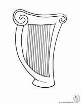 Disegno Colorare Strumenti Musicali Arpa Disegni Harp Stampare Bambini Disegnidacolorareonline Coloring Pianoforte Violino Sketchue Immagini Musica Colori Gratis Soldi Pronta sketch template