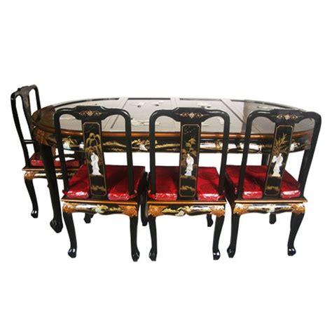 Table A Manger Avec Chaises by Table Chinoise De Salle 224 Manger Avec 6 Chaises Et 2
