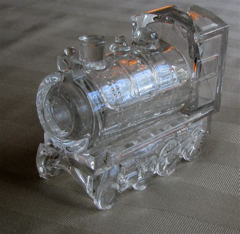 Larrys Photo A Day Glass Toy Train