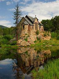 Allenspark Colorado Chapel On the Rock