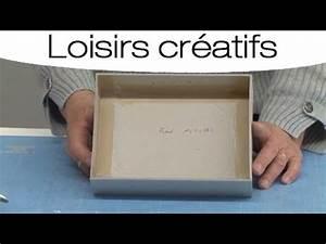 Fabriquer Une Boite En Carton Avec Couvercle : cr er une boite bijoux en carton mode d 39 emploi youtube ~ Melissatoandfro.com Idées de Décoration