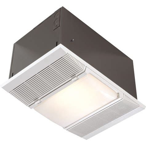 Bathroom Ceiling Heater Light by Nutone 1 500 Watt Recessed Ceiling Heater With Light And