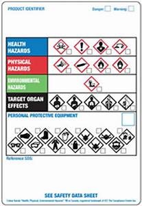 ghmis worldwide workplace labeling systems osha hazcom With blank ghs labels