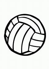 Volleyball Coloring Pages Clipartmag Cartoon sketch template