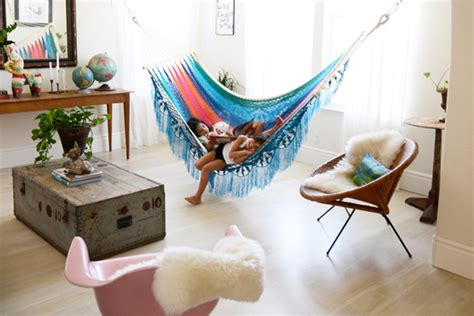 Inside Hammocks by How To Use An Interior Hammock In Your Bedroom