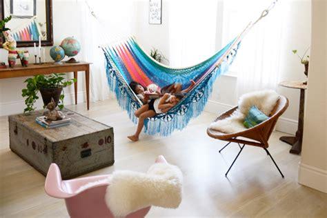 interior hammock   bedroom