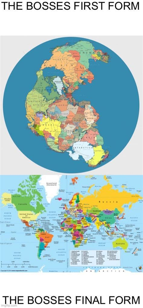 Pangea has evolved to its final form : HistoryMemes