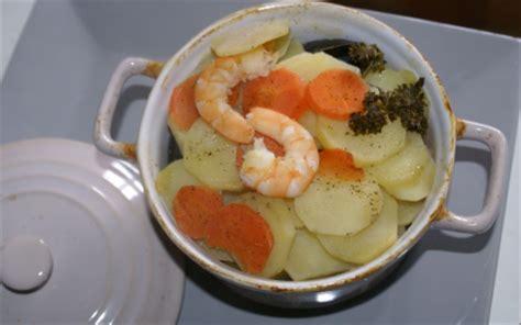 recette cuisine baeckoff recette baeckoff de la mer au saumon haddock et à l
