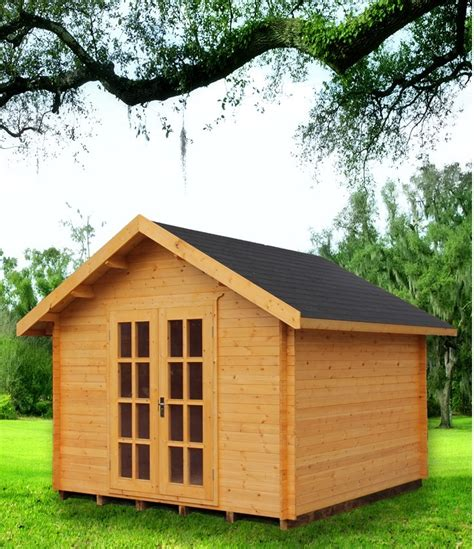 craft shed wooden kit set garden shed