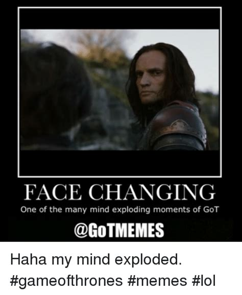 face changing     mind exploding moments