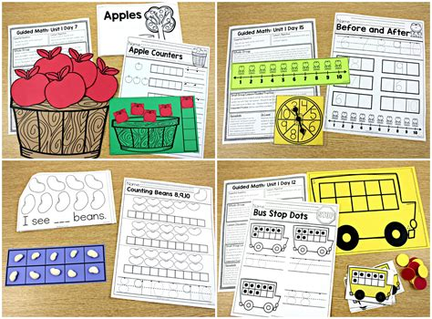 guided math k 1 and 2 tunstall s teaching tidbits