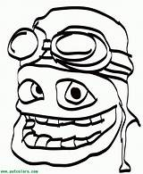 Crazy Coloring Frog Popular Pdf Bijlagen Coloringhome sketch template