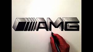 Logo Mercedes Amg : how to draw the mercedes benz amg logo in 3d youtube ~ Medecine-chirurgie-esthetiques.com Avis de Voitures