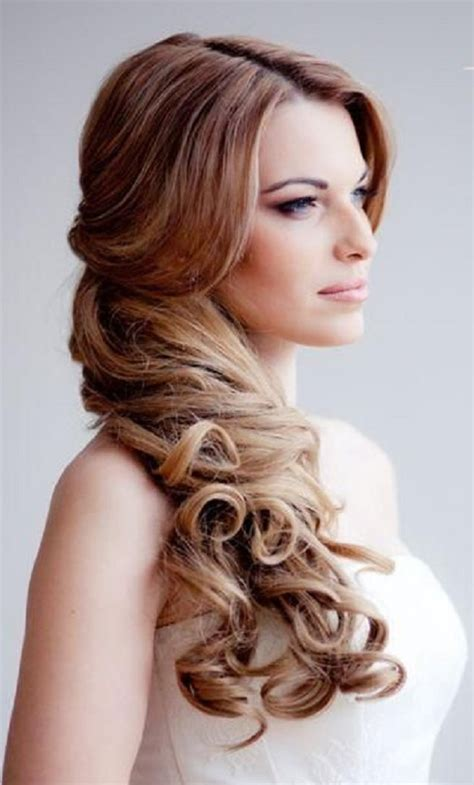 delightful prom hairstyle  long hair