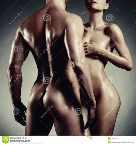 Nude Sensual Couple Stock Image Image Of Emotions Erotic